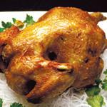 健康中華 青蓮 - 料理写真:丸鶏のパリパリ揚げ油淋鶏