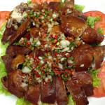 健康中華 青蓮 - さっぱり葱だれの油淋鶏