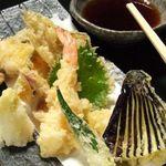 SUSHI-DINING 魚浜 - 魚河岸天ぷら盛合わせ