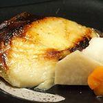 SUSHI-DINING 魚浜 - 銀ダラ味噌漬け焼き