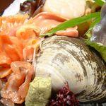 SUSHI-DINING 魚浜 - おまかせ貝の盛り合わせ