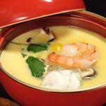 SUSHI-DINING 魚浜 - 茶碗蒸し