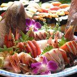 SUSHI-DINING 魚浜 - 勝手包丁盛り合わせ