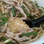 福軒 - 具は豚肉、ピーマン、筍