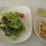 ハーベストタイム - サラダとフォカッチャ