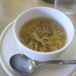 4710843 - ハンバーグランチのスープです。