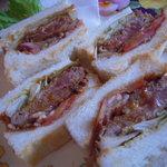 マザーグース - マジに美味しいビフカツサンドは絶品!