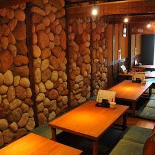 掘りごたつや半個室、カウンターなどいろいろなお席あり!