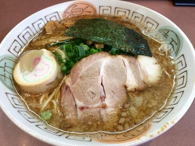 弾岩ラーメン - 鬼エグ煮干し出汁らぁめん 730円