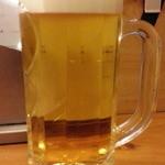 47101180 - 生ビールは黒ラベル通常550円