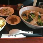 47101723 - ランチCセット(海鮮麺 半チャーハン付)