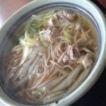 あすかうどん - 料理写真:鴨南そば