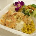 Blue Water Shrimp & Seafood - ガーリックシュリンプ