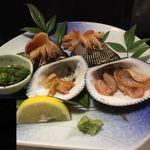 居酒屋ふじ広 - 料理写真:赤貝お造り