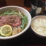 47108802 - 松坂牛麺とごはん