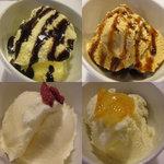 じゅん平 - 料理写真:食後にアイスいろいろ