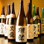 みなと寿司 - 焼酎・日本酒も豊富にご用意しております