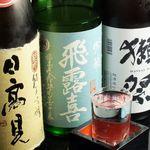 みなと寿司 - 魚には日本酒でしょ!