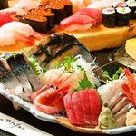 みなと寿司 - 2時間飲み放題付みなと特選刺盛付7品3980円(税抜)