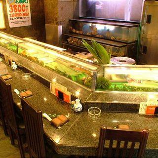 寿司屋の醍醐味はやっぱりカウンター席!