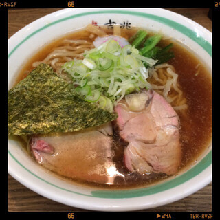 麺壱 吉兆 - 支那そば 720円