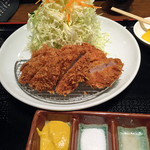 Katougyuunikutenshibutsuu - ひれかつ定食
