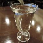久米川  絹 - 日本酒半合(篠峯純米)