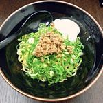 ビリ丸 - 【温玉 汁無担々麺】¥680
