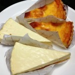 アトリエ・ド・フロマージュ 軽井沢売店 - チーズケーキ
