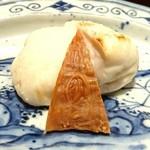 豪龍久保 - トラフグ白子焼き、ばちこ