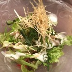酒蔵 魚の家 - サラダ