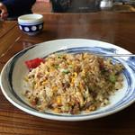 山村茶屋 - 焼飯 600円