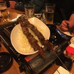 博多屋台ファクトリー - サガリ串②