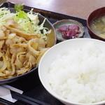 Kashiwaya - 生姜焼き