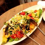 47119958 - 食べるドレッシングのサラダ