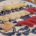 樹花 - 寿司3品