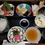 美膳 - 料理写真:三色弁当