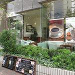 珈房 癒豆水 - 昭和通り沿いにある、大手門に近い赤坂にあるカフェです。喫茶店寄りのカフェってカンジで、居心地良し♪
