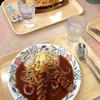あんかけファクトリー - 料理写真:手前 あんかけスパ 中名古屋 奥 鉄板ナポリタン