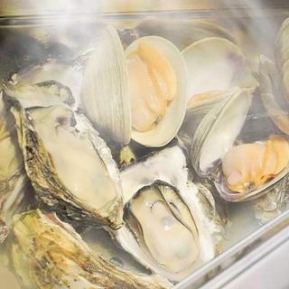 ★貝料理★かいのみ名物【豪快蒸し】