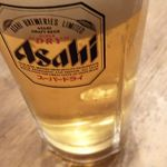とりまさ - 生ビール 480円+税