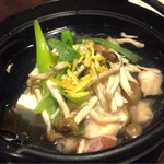 えびすや - 湯豆腐