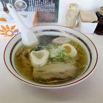 味源 - 昔風しおらーめん(780円)