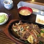 とんちんかん - プルコギ鉄板焼き定食