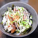 麺屋 空 - アバラ丼(ミニ)