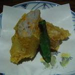 螢月 - 海老芋のゆば包み揚げ