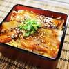 ダイニングカフェ 新 - 料理写真:吉川豚のミニ豚重