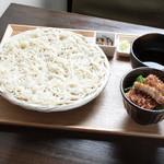 ごはんcafe両子の庄  - ソースかつ丼と秋田稲庭うどん膳
