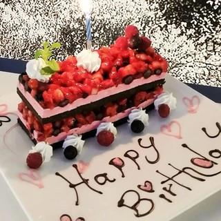 誕生日・記念日承ります!サプライズ企画などお気軽にどうぞ!