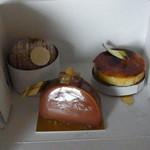 47129835 - ケーキ3種